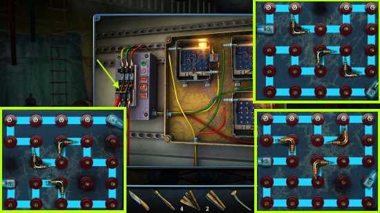 собираем электрические цепи и включаем освещение в игре загадки нью - йорка пробуждение