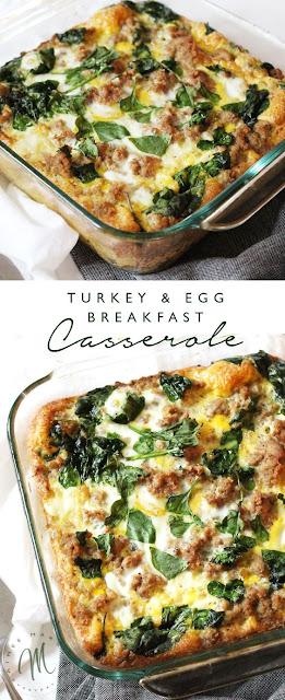 Turkey & Egg Breakfast Casserole