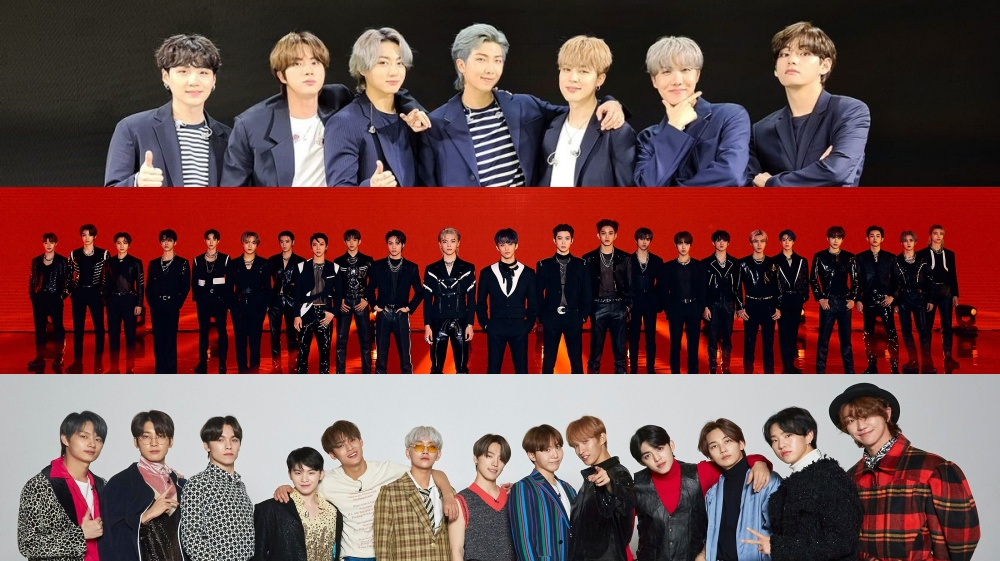 List of Kpop Boy Groups Brand Reputation in October 2021