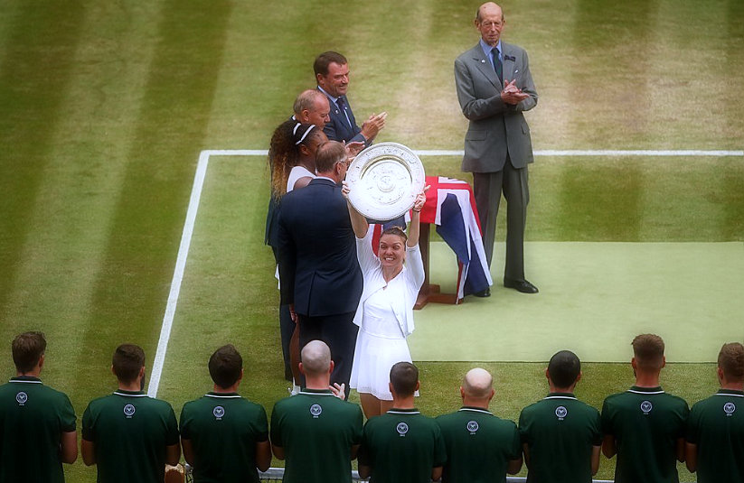 Halep wins Wimbledon, stops Williams' offer for the 24th Slam