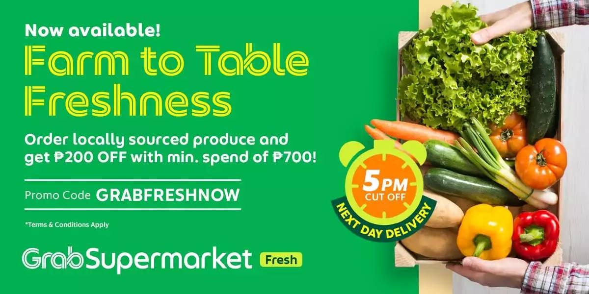 GrabSupermarket Fresh