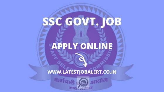 SSC Recruitment, SSC Recruitment Job, SSC Recruitment vacancy