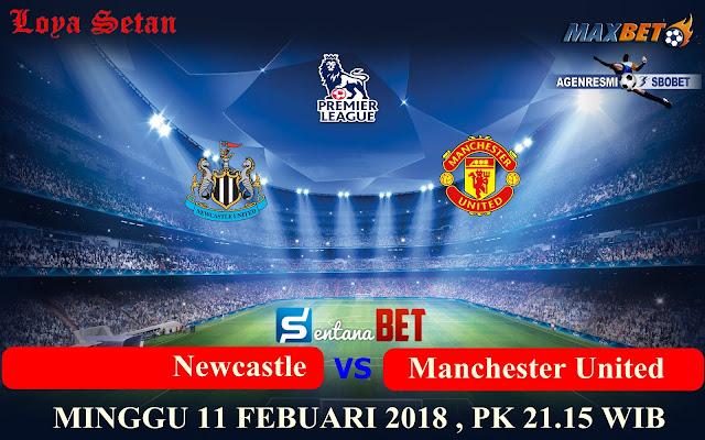Prediksi Bola Minggu, 11 Febuari 2018 : Newcastle vs Manchester United