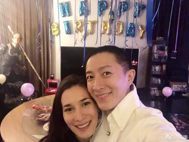 Celina Jade Han Geng dating