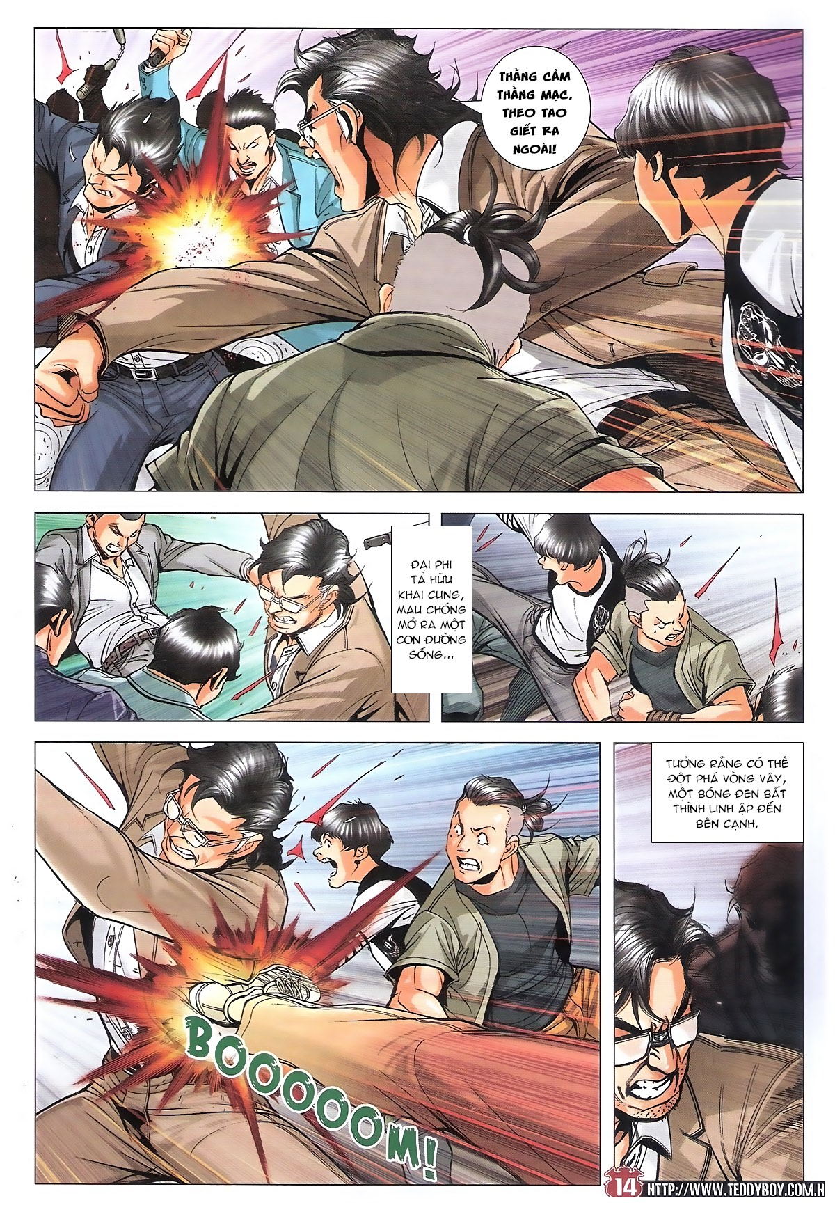 Người Trong Giang Hồ chapter 1801: đại phi tái chiến trần tuấn hiền trang 11
