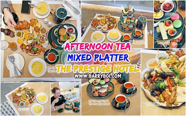 The Prestige Hotel Food Afternoon Tea Mixed Platter Penang Blogger Influencer