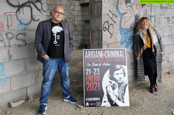 """Los Llanos acoge el primer festival de novela negra y policíaca """"Aridane Criminal"""", bajo la dirección del escritor Alexis Ravelo"""