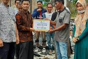 BMA Serahkan Bantuan Rp 67 Juta untuk Korban Kebakaran di Simeulue
