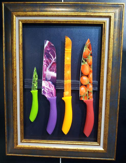 Pearl's Harbor Blog:Messer mit Fotodruck von der Ambiente 2013 Hersteller Albert de Thiers