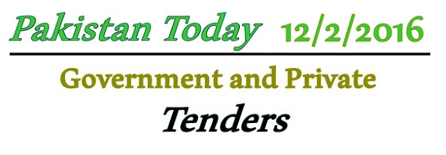 12/2/2016 News Papers Tenders