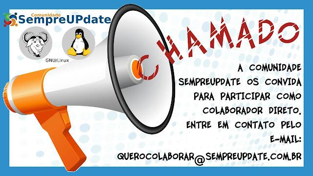 2ª Chamada de trabalhos Comunidade GNU/Linux SempreUPdate 2016!