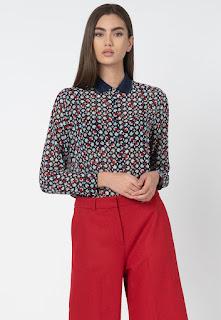 Pepe Jeans London - Дамска Риза Iman с флорален десен