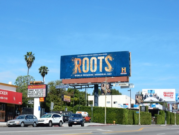 Roots 2016 remake billboard