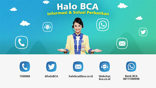 Nomor CS Halo BCA