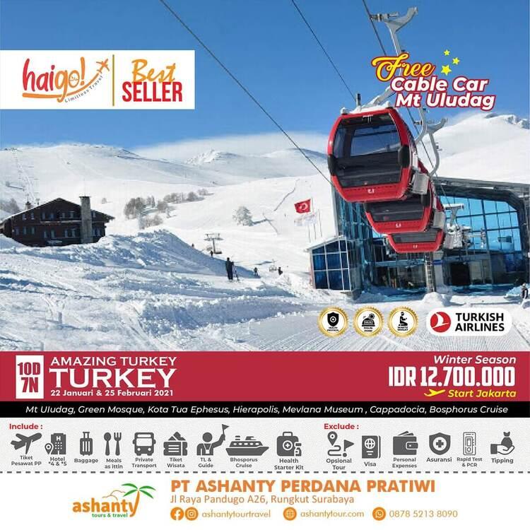 paket tour ke turki dari surabaya