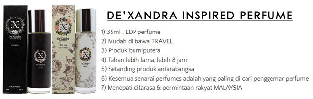 Dexandra Inspired Perfume