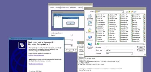 Windows XP has features that make it feel like a Mac