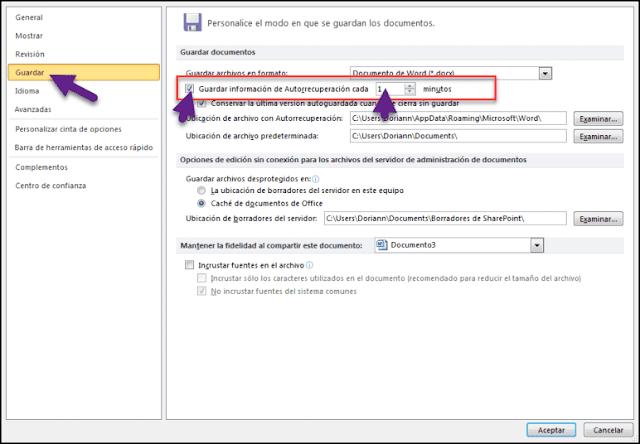 ستساعدك هذه الخدعة على عدم فقدان عملك في Word إذا تم إيقاف تشغيل الكمبيوترفجأة