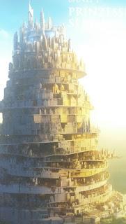der Stadtkegel - man sieht die unterschiedlichen Zivilisationsebenen