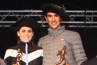 Xabier Tijero y Natalia Gómez