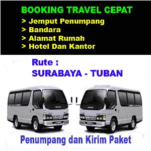 jasa travel surabaya tuban
