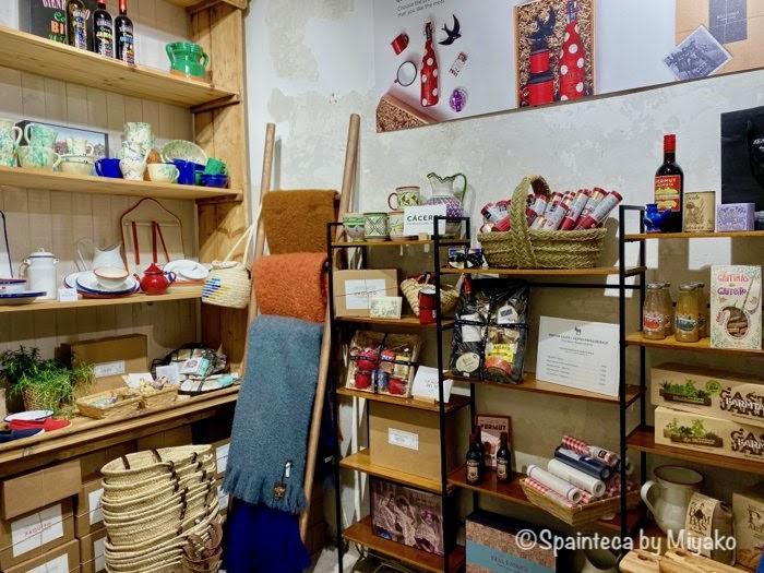 マドリードにあるスペイン生まれの雑貨屋さんの店内の様子