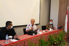 Renhard Buka Bimtek Transforamsi Leadership dan Intraprenership  BPTD Wilayah XXII Sulut