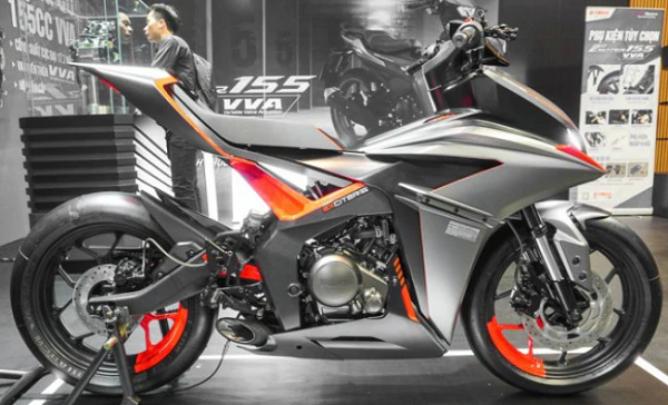 Ini Dia Yamaha F155 Motor Prototipe MX King