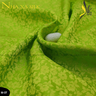 Chất Liệu Vải Lụa satin tơ tằm Cao cấp