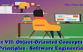 Unit VII: Object-Oriented Concepts and Principles - Software Engineering