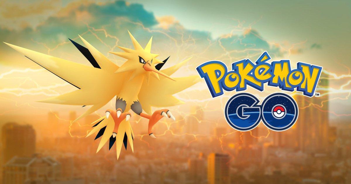 Zapdos ya disponible en Pokémon GO: IVs perfectos, CP, trucos y más