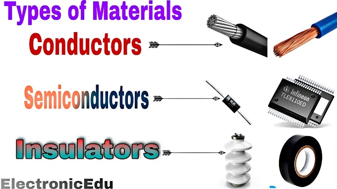 Difference between Conductor Semiconductor Insulator