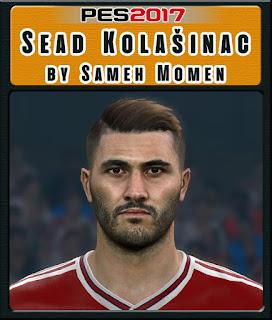 PES 2017 Faces Saed Kolasinac by Sameh Momen