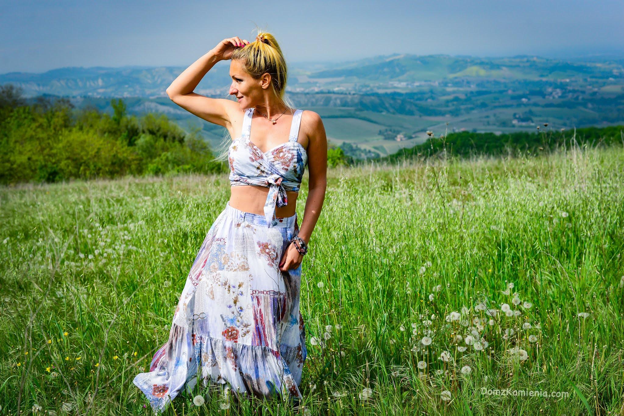 Kasia Nowacka, Dom z Kamienia, blog o życiu w Toskanii