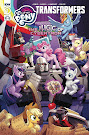 My Little Pony The Magic of Cybertron #1 Comic Cover Retailer Incentive - B Variant