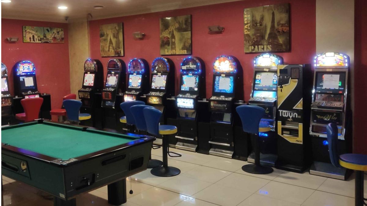 Sala Giochi e slot machines