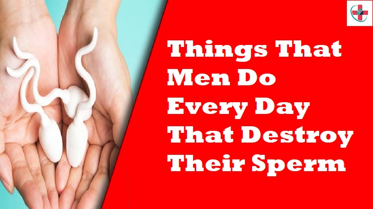 Things That Men Do Every Day That Destroy Their Sperm
