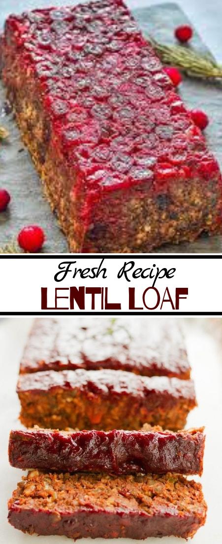 Lentil Loaf #dinnerrecipe #food #amazingrecipe #easyrecipe