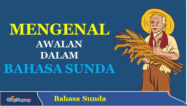 contoh awalan dalam Bahasa Sunda
