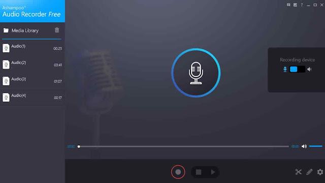برنامج تسجيل الصوت من الكمبيوتر بجودة عالية