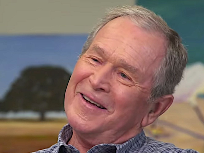 RINO George W. Bush Reveals Who He Voted For in 2020