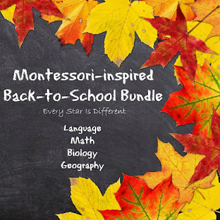 Montessori Back-to-School Bundle