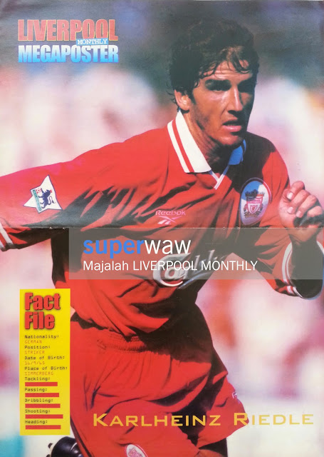 Poster Karlheinz Riedle Liverpool 1997