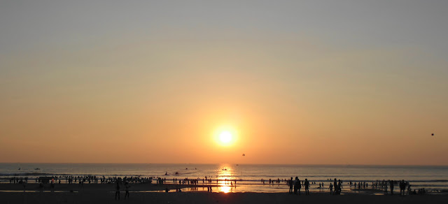 Sunset at Kashid Beach