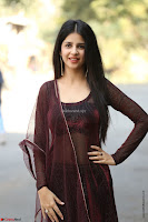 Kashish Vohra looks Beautiful Cute and Innocent beauty in Brown Transparent Velvet Gown ~  Exclusive 020.jpg