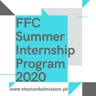 FFC Summer Internship Program 2020