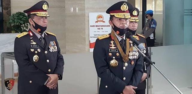Kapolri Ingatkan Anggotanya: Berpolitik, Kamu Saya Copot!
