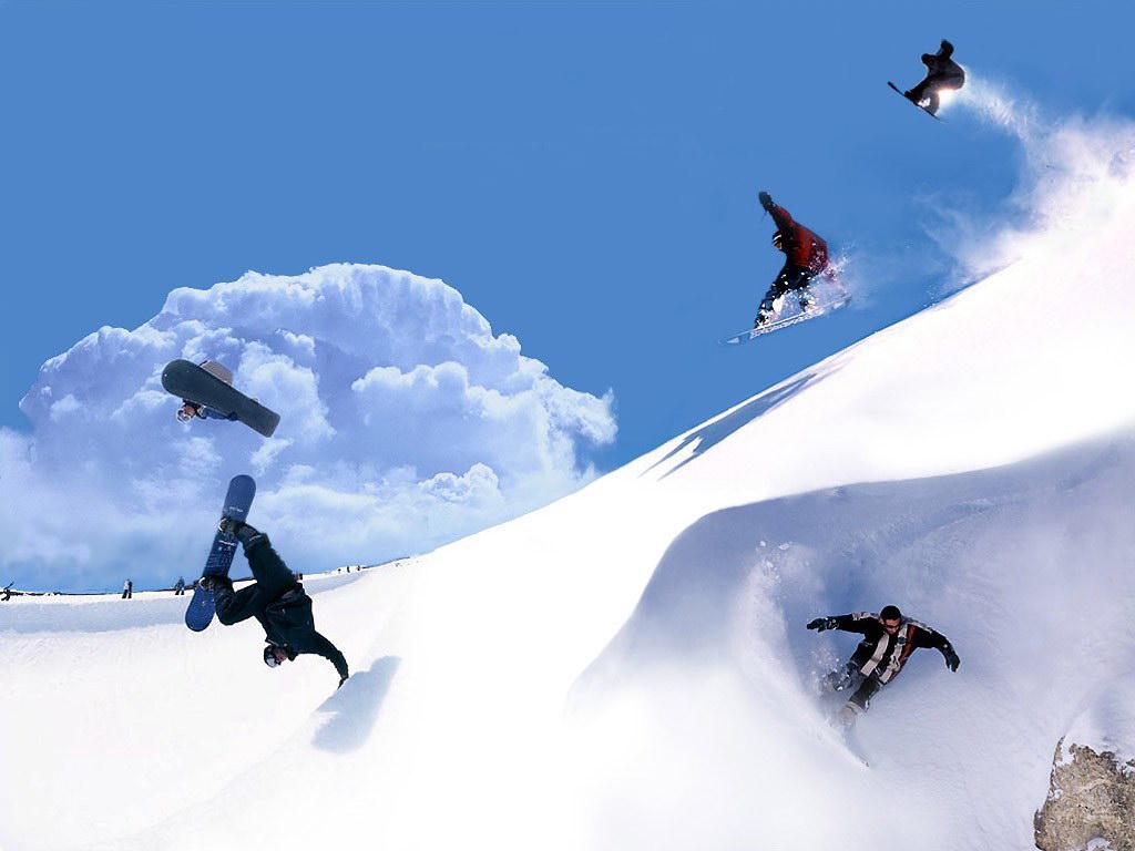 Miranda Leblanc Snowboarding Wallpaper Hd
