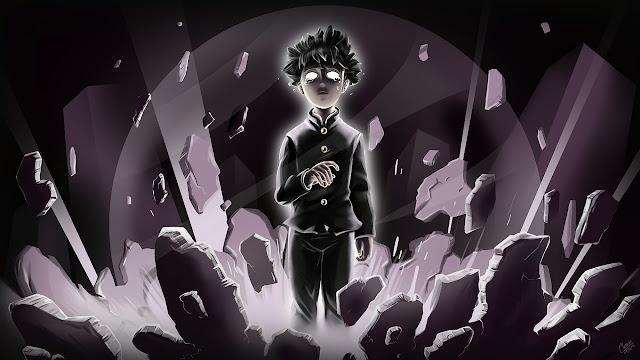 Obra do mesmo autor de One Punch Man, Shigeo Kageyama, conhecido como Mob, um estudante com poderosos poderes psíquicos. É um dos mais poderosos de seu tipo. No entanto, Shigeo parou de usar seus poderes em público devido à maneira como as pessoas olham. Ele só quer se aproximar Tsubomi, seu colega de classe e alcançar os objetivos que se fixou na vida. Mas logo outros Espers (indivíduos com poderes sobrenaturais) vão ficar em seu caminho.