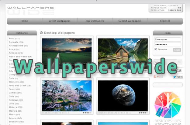 ιστοσελίδα με εικόνες για φόντο